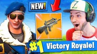 NEW LEGENDARY GUN *LEAKED* in Fortnite: Battle Royale!