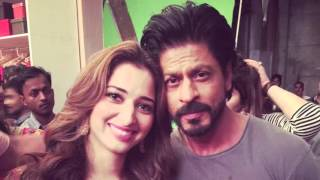 Shahrukh Khan And Tamannaah Bhatia Spotted Together
