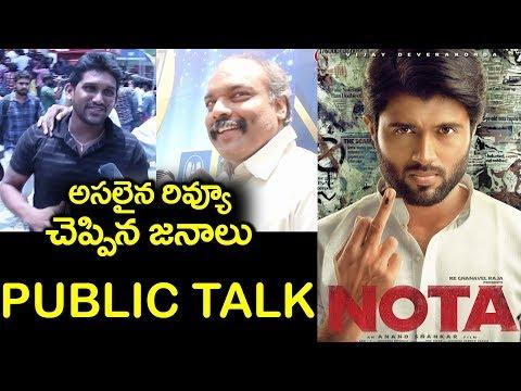 Public Response on NOTA Telugu Movie | Vijay Devarakonda | Mehreen Pirzada | #9Roses Media