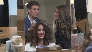 Fekkai on The Face - Sharon's Sexy, Controlled Waves Hair Make Over