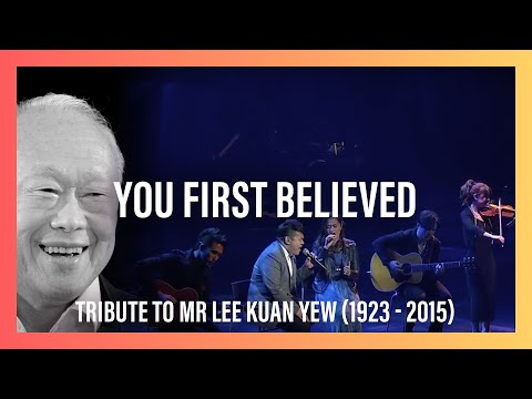 New Creation Church Pays Tribute To Mr Lee Kuan Yew (1923 - 2015) With You First Believed video