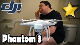 DJI Phantom 3 Unboxing, First Looks, Flight Test & Comparison