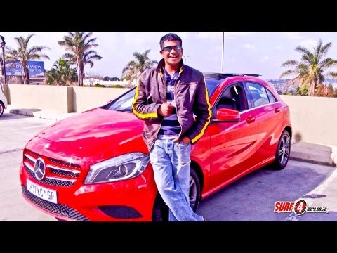 Mercedes-Benz A180 2013   New car video review   Surf4cars