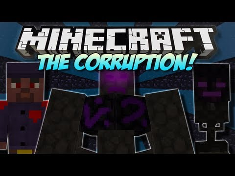 Minecraft   THE CORRUPTION! (NEW Dimension. Boss & Mobs!)   Mod Showcase [1.4.7]
