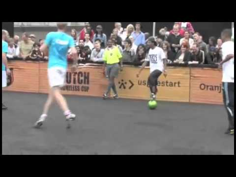 The Best Street Football Freestyle Hd video
