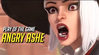 Play of the Game: ANGRY ASHE - Overwatch Funny & Epic Moments 659