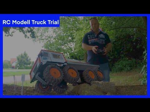 Scale Modell Truck Trial Europameisterschaft 2016 in Morschheim