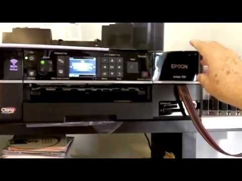 Epson Artisan CD DVD printer for home business. 3 Reasons why I like it