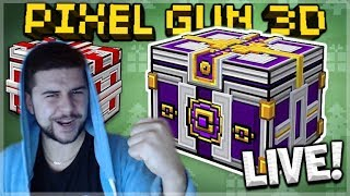 Pixel Gun 3D | LIVE NOW! - OPENING EVENT CHESTS LIVE & SUBSCRIBER BATTLES