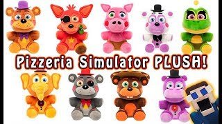 FnaF Pizzeria Simulator FUNKO Plush!! Five Nights at Freddy's Exclusive Look!