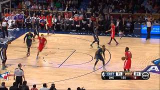 Stephen Curry 2014 ( 1st ) All-Star Game (Appearance) Highlights (2-16-2014)