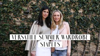 Versatile Summer Wardrobe Essentials/How to wear them now for the transitional season | Mademoiselle
