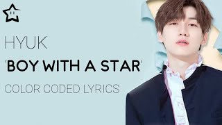 Hyuk 혁 Vixx 빅스 Boy With A Star Legendado Han Rom Eng Pt Br