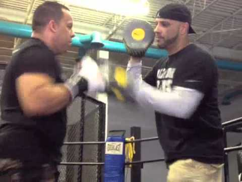 Coach Rick: Boxing Mittwork Focus Mitt Training with T. Garcia Master Muay Thai Instructor LI NYC Image 1