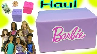 Giant Box of Barbie Dolls (Quinceañera, Pool Chic, Festival + More) Haul Video