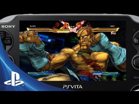 Street Figher X Tekken for PS Vita: Battle Highlights Trailer