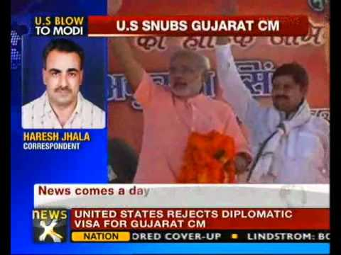 No visa to Narendra Modi: US - NewsX