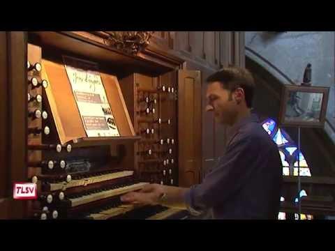 Luçon : jeux d'orgue en la cathédrale