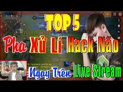 Top 5 Pha Xử Lí HACK NÃO Làm Lên Tên Tuổi ISSPROX Ngay Trên Live Stream - Liên Quân Mobile ✔