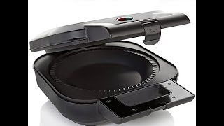 "Wolfgang Puck 9"" Electric Pie Maker with Pastry Cutter"