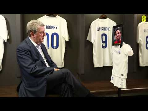 EE connects fans to England Manager Roy Hodgson at Wembley Stadium