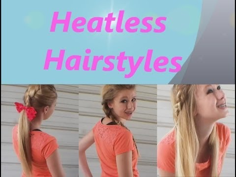 3 Simple, Easy Summer Heat-less Braided Hairstyles