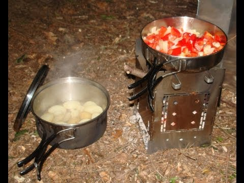 FIREBOX STOVE Review @ Stealth Camp Bug Out Location