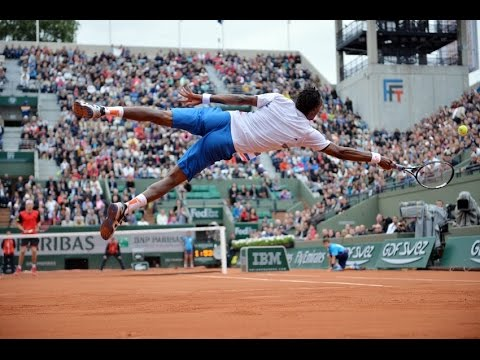 Gael Monfils Top 5 Amazing Points