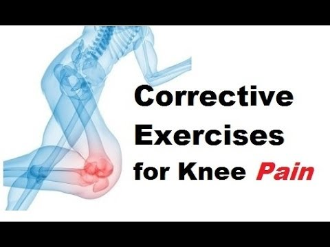 How To Fix Your Knees: Corrective Exercises - YouTube