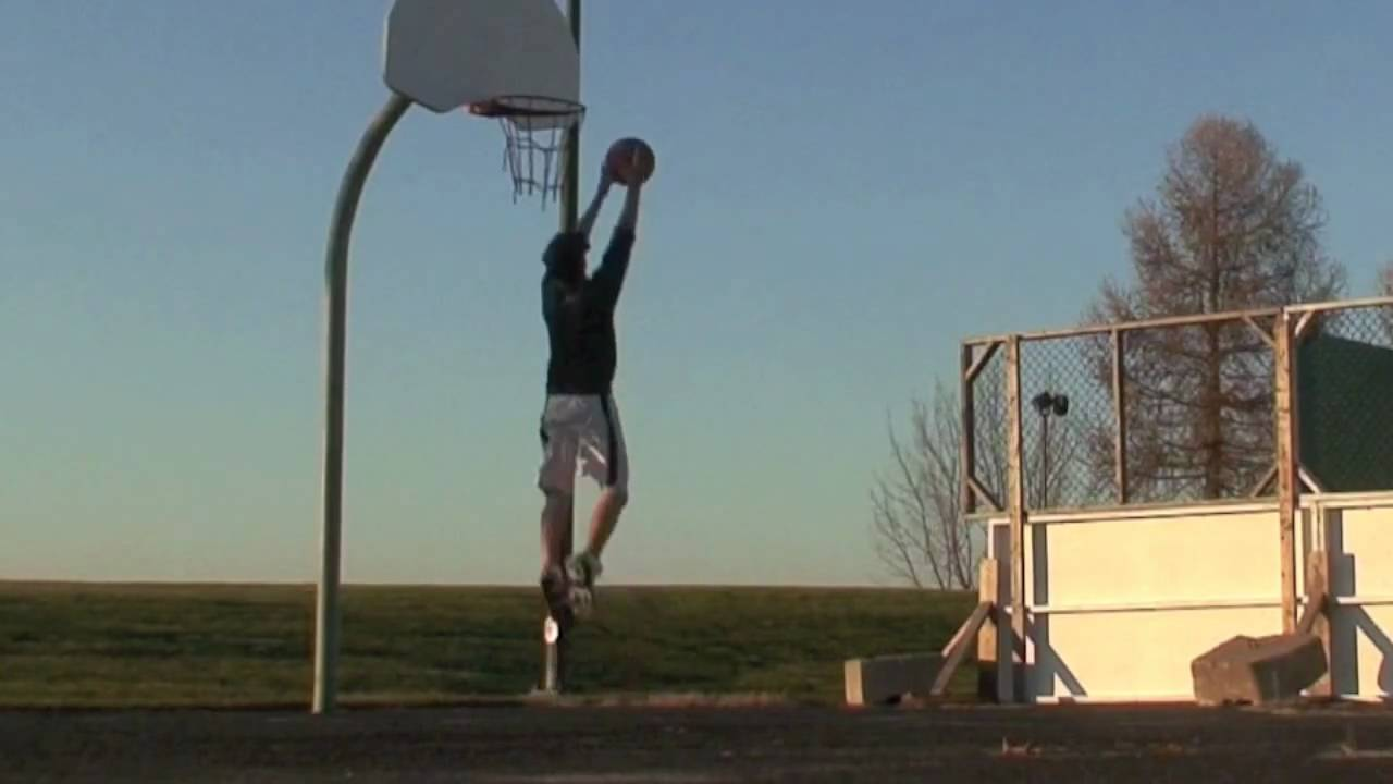 spud webb in white 6 10 1 feet dunk with 175 cm dunkfather youtube. Black Bedroom Furniture Sets. Home Design Ideas