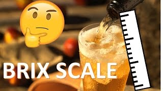 BRIX Scale Explained -- Measuring Hard Cider and other Sweet Things