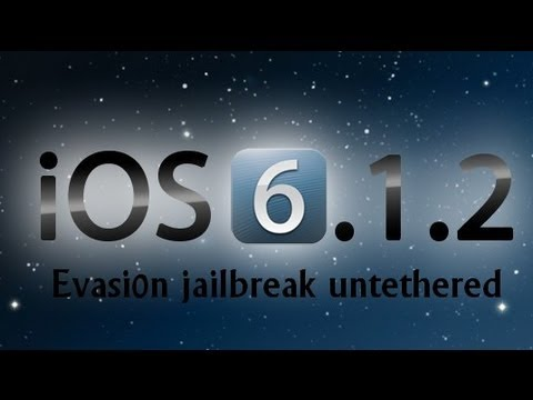 Evasi0n - Untethered Jailbreak iOS 6.1.2 iPhone 5. 4S. 4. 3GS. iPad Mini 2.3.4. iPod touch 4/5