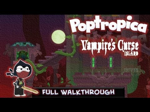 Poptropica Cheats For Vampires Curse – Island Walkthrough