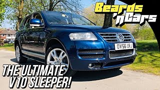 BEARDS 'n CARS - Volkswagen Touareg V10 TDi Review!