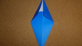 Basic Origami Folds - Kite Base And Diamond Base
