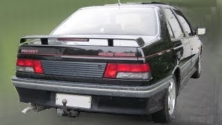 Peugeot 405 Mi16x4 - Testing Rear Suspension Hydraulics
