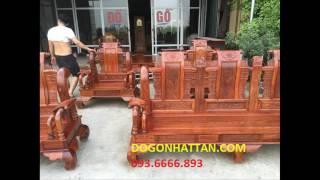 sập gỗ cẩm nam phi kích thước trên 2m tại xưởng gỗ VĂN BA GỖ TO hà nam