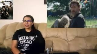 The Walking Dead Season 7 Episode 12 Reaction s07e12 SAY YES 7x12 Rick Michonne Build a Future