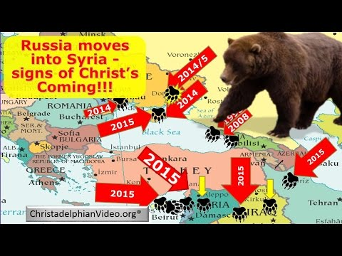 Russia Moves Into Syria: Ezekiel 38 being fulfilled. - End Time Bible Prophecy