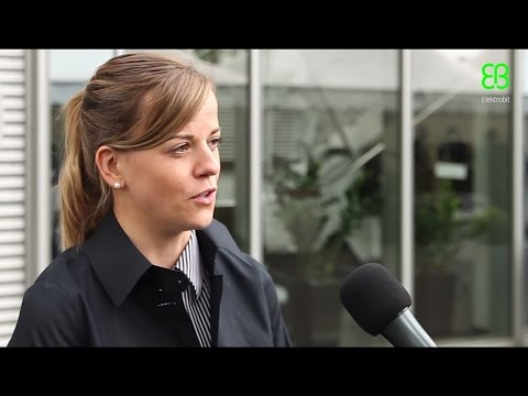 Susie Wolff about automotive trends and software