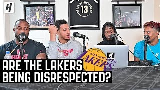 Are The Lakers Being Disrespected By Other NBA Teams? | Through The Wire Podcast
