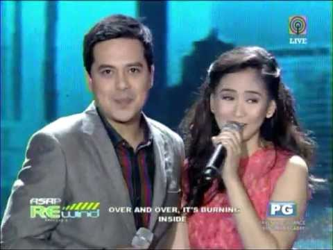 Sarah, John Lloyd sing their movies' theme songs
