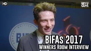 Josh O'Connor - God's Own Country | The 2017 BIFAs Winners Room Interview