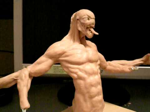 sculpture super sculpey monster