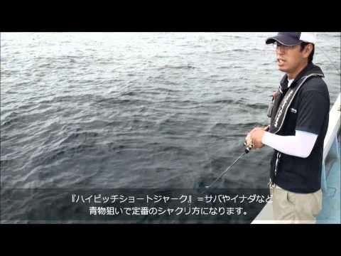 誰でも簡単に釣れるライトジギングにはコイツ!2011夏~最新鋭ロッド