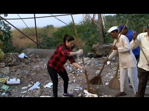 Tamannaah Bhatia joins Clean India Campaign