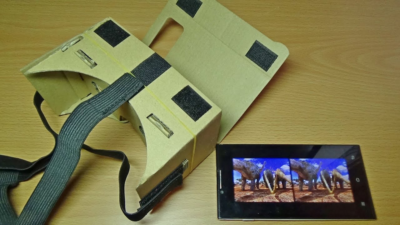 Как сделать очки виртуальной реальности для телефона 727