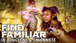 Find Familiar in Dungeons and Dragons 5e