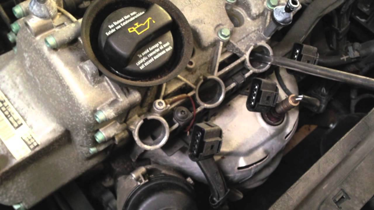 volkswagen oil filter location