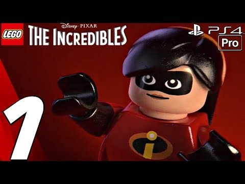 LEGO The Incredibles Gameplay Walkthrough Part 1 Prologue (Full Game) PS4 PRO